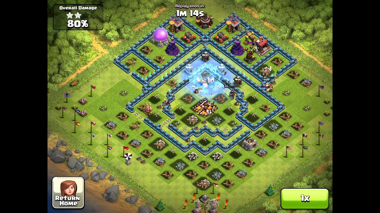 Video - Clash of Clans My attack video 100% BEST ATTACK IN