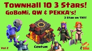 Clash of Clans | Townhall 10 3 Star Attacks (Vol 2)
