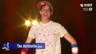 "Matt ""Airistotle"" Burns (USA) Air Guitar World Championships 2018"