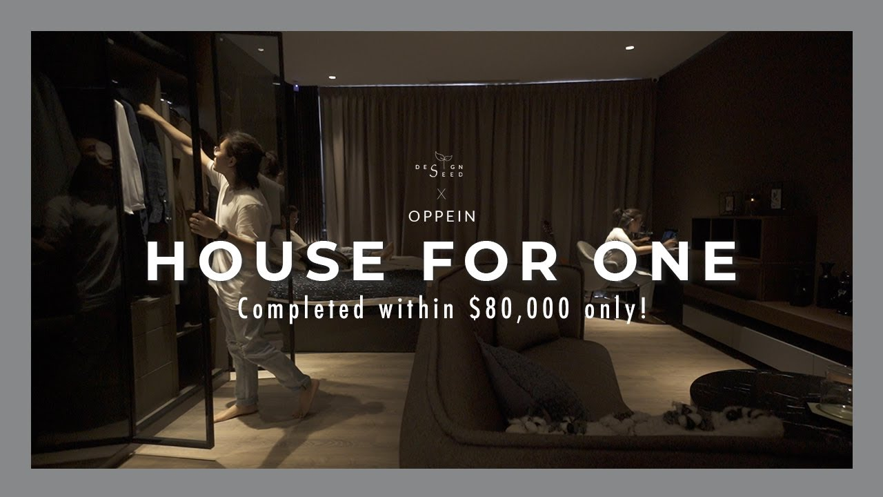 House For One |  Studio Apartment House Tour | Oppein Living | Interior Design