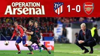 ATLETICO MADRID 1-0 ARSENAL (2-1) - GOODBYE ARSENE WENGER.
