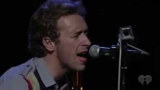 Coldplay - Billie Jean ( Michael Jackson cover) Live & Acoustic on I Heart Radio