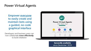 Accelerate bot development in Power Virtual Agents | INT155B