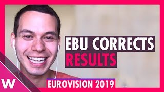 Eurovision 2019 voting: North Macedonia wins jury vote after EBU corrects results error