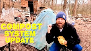 Chicken Composting System Updated