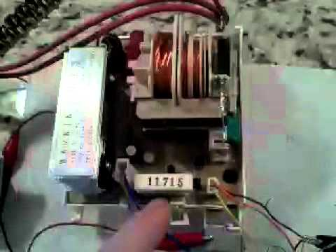 Microwave oven inverter hacking  the new MOT  YouTube