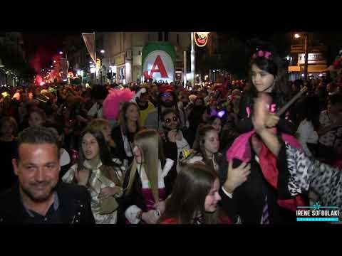 Ρεθεμνιώτικο Καρναβάλι 2019 (Νυχτερινή Παρέλαση) / Rethymno Carnival 2019 (Night Parade)