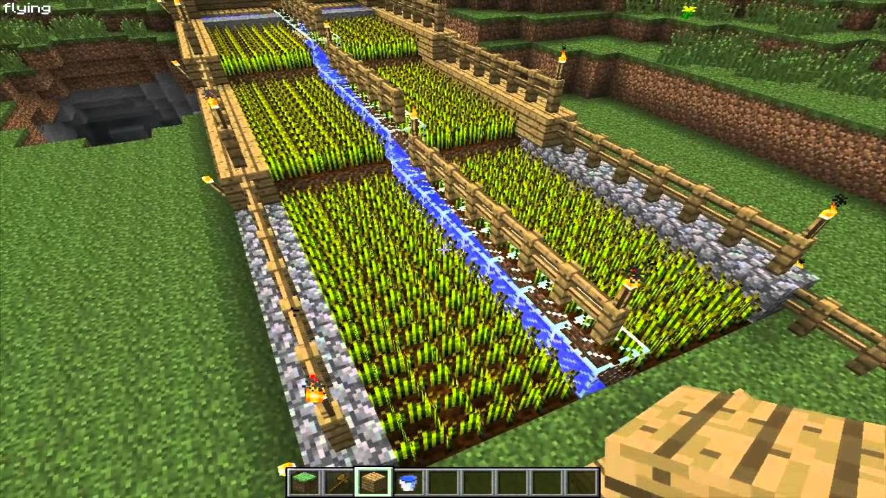 Minecraft - Auto sugar cane harvester tutorial - YouTube