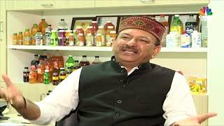 Power Talk With Manpasand Beverages', Chairman & MD, Dhirendra Singh || CNBC TV18