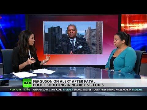 Ferguson on alert after St. Louis police shooting