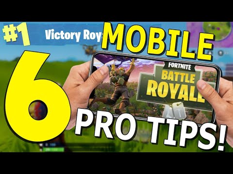 Best Tips and Tricks for Fortnite Mobile! - [Settings, Build