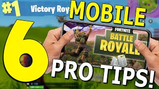 Best Tips and Tricks for Fortnite Mobile! - [Settings, Building, and More]