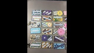 Altered Paper Clips   Using up Scraps and Leftover Die Cuts