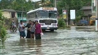 Наводнения на Шри Ланке  высокий риск распространения болезней