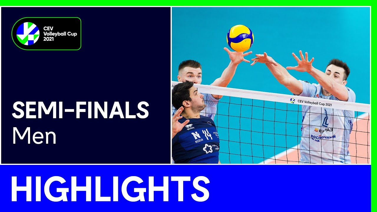 Dinamo MOSCOW vs. MONTPELLIER Castelnau UC Highlights - #CEVCupM