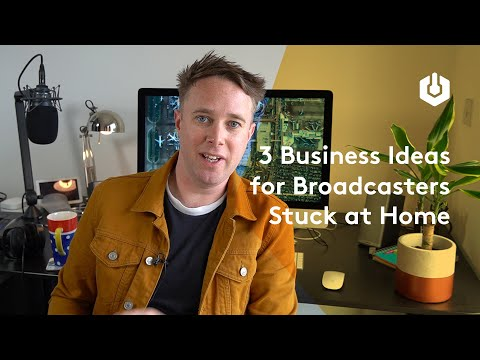 3 Business Ideas for Radio Broadcasters Stuck at Home