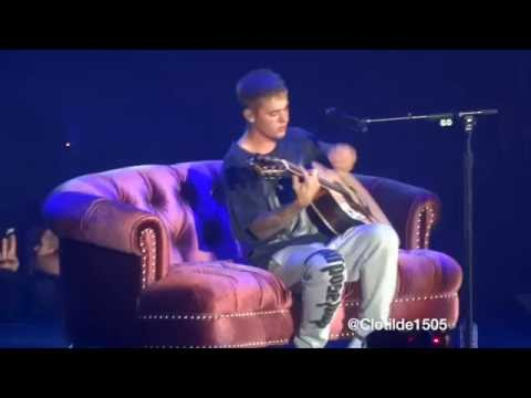 Justin Bieber - I Could Sing Of Your Love Forever / Cold Water - 20.09.16 (Paris, AccorHotels Arena)