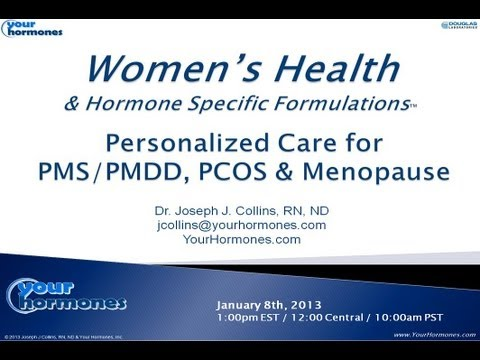 Women's Health - Personalized Care for PMS-PMDD, PCOS & Menopause