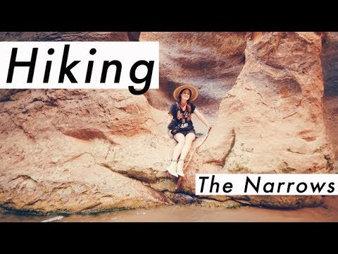 Zion National Park VLOG: Setting up camp & hiking The Narrows!