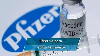Este resultado se suma a las declaraciones hechas el sábado por el Ministerio de Salud de Israel, que aseguró que el antídoto de Pfizer es efectivo contra la enfermedad en casi 96%