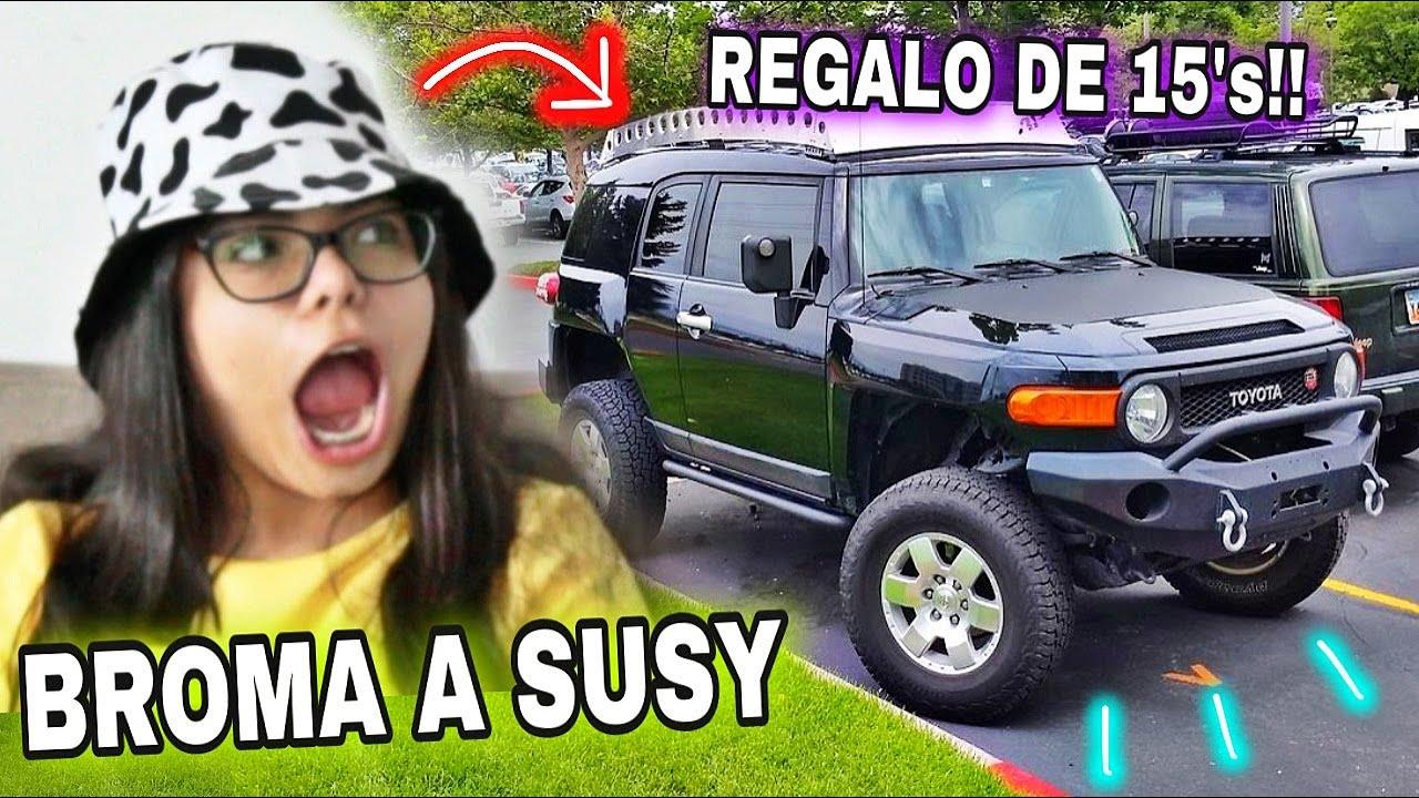MI PAPÁ ME ILUSIONÓ 😭 - Susy Mouriz