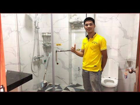 Phòng tắm kính - Lắp đặt và giới thiệu vách tắm kính Fendi | THIẾT BỊ VỆ SINH LÀO CAI
