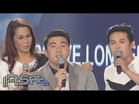 Luis Manzano sings 'Forevermore' with Pokwang & Marcelito