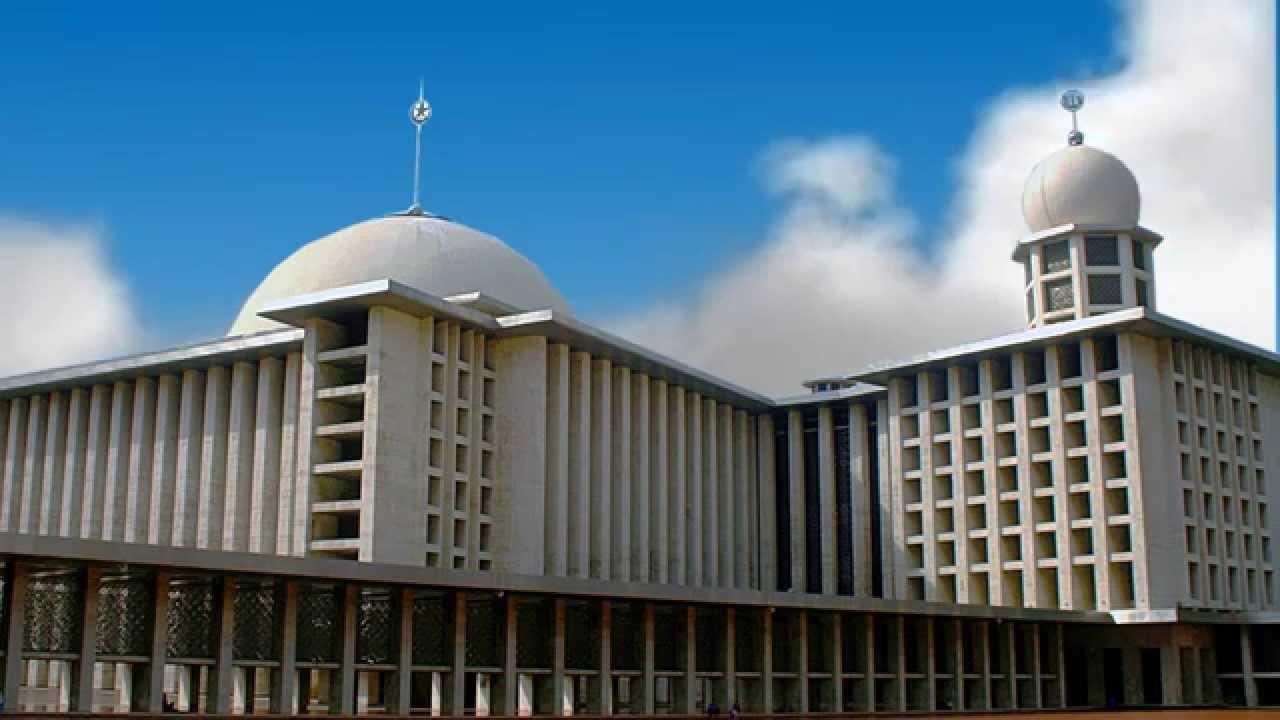Masjid Istiqlal  Jakarta Timelapse Free Stock Footage