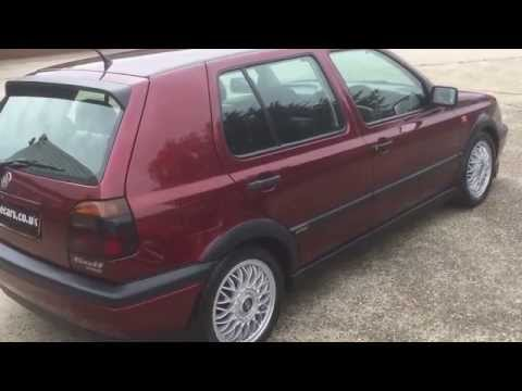 1993 (L) Volkswagen Golf VR6 2.8 V6 Auto Only 36,000 Miles (Sorry Now Sold)