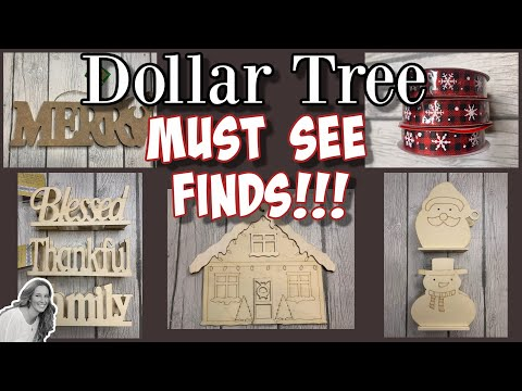 Dollar Tree MUST SEE Finds Sept 2020   Christmas Stuff ALREADY!!!!