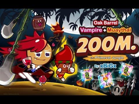 Cookie Run 200M [EP.2] Vampire + MuayThai : แวมไพร์ + มวยไทย [ป่าลึกลับ] | xBiGx