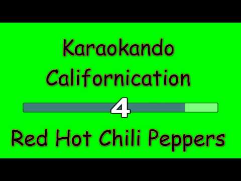 Karaoke Internazionale - Californication - Red Hot chili peppers ( lyrics )