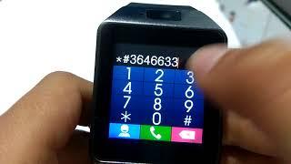 Codigos secretos de smartwatch DZ09