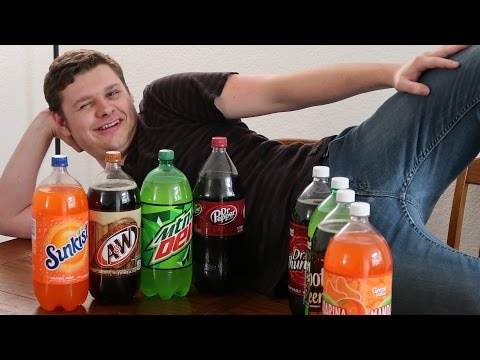 Soda Taste Test Challenge! Name Brand vs. Walmart Great Value