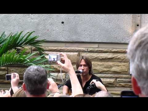 PYIAS Country Music Hall of Fame fan club breakfast with KEITH URBAN