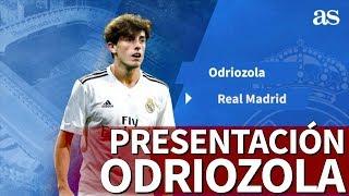 Presentación de Odriozola   Nuevo fichaje del Real Madrid 2018-2019   Diario AS