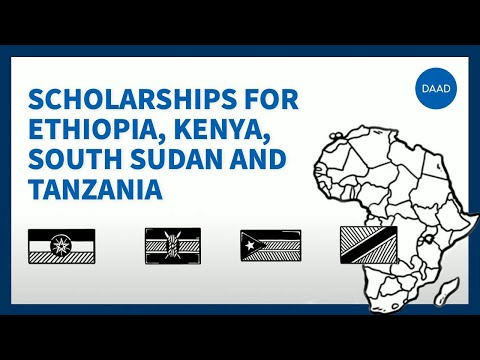 """The scholarship programme """"Leadership for Africa"""" for Ethiopia, Kenya, South Sudan and Tanzania"""