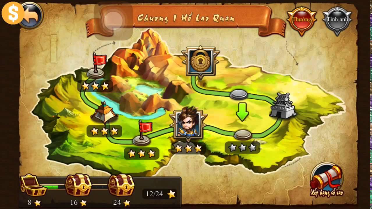 Đại Tướng Quân Truyền Kỳ Game Mobile - Heros of Legends