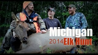 Michigan 2014 Elk hunt with Michigan Gone Wild