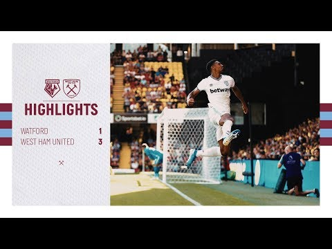 EXTENDED HIGHLIGHTS   WATFORD 1-3 WEST HAM UNITED