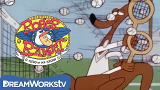 This Video Is Unavailable.     Roger Plays Tennis Against A Kangaroo | Roger Ramjet