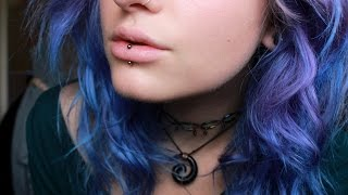 My Vertical Labret Piercing + Swelling Process