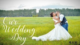 OUR WEDDING DAY | Page Danielle