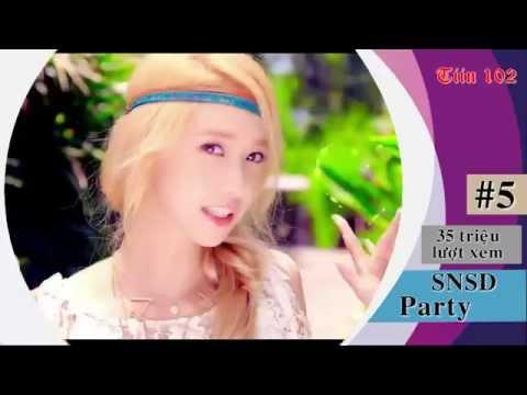 Những MV Kpop hot cháy YouTube 2015