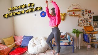 Pinterest Apartment Makeover! Decorate With me!