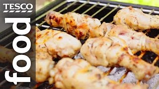 How To Make Bbq Chicken With A Lemon And Herb Marinade   Tesco Food