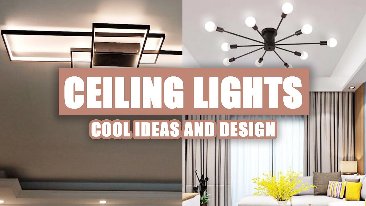 55 Cool Ceiling Lights Design Ideas For Living Room 2020 Youtube