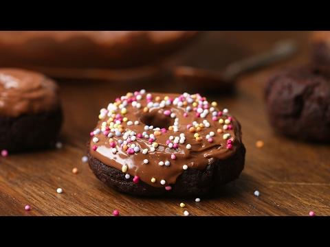 Easy Homemade Chocolate Doughnuts Gluten