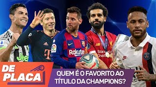 LIVERPOOL, BARCELONA, REAL MADRID, PSG: qual time é favorito ao título da CHAMPIONS LEAGUE?