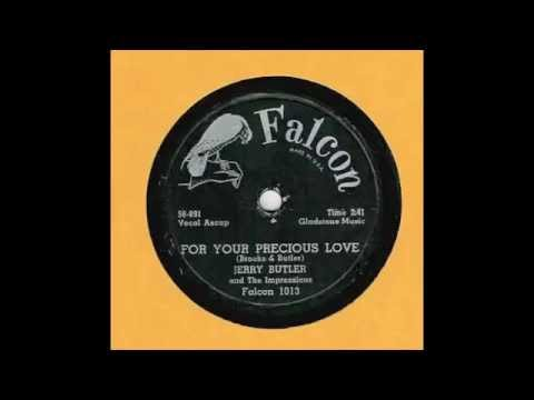 For Your Precious Love - J. Butler & Impressions 78 Rpm!